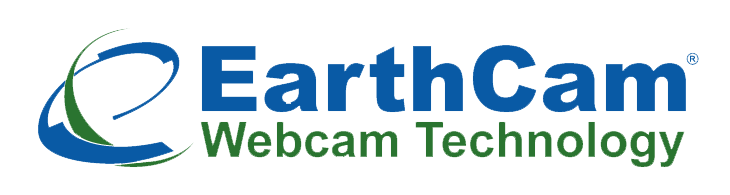 Earth Cam Webcam Technology logo blue and green