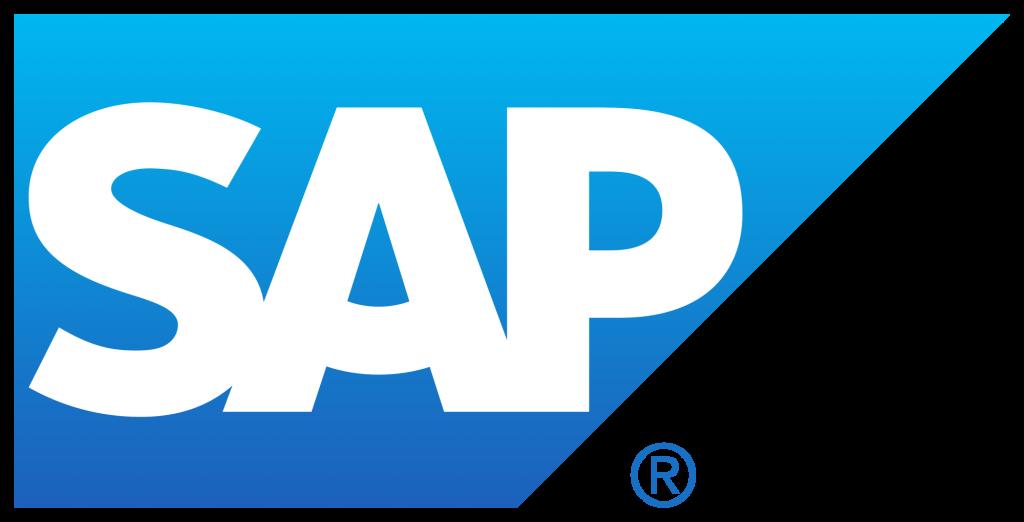 blue SAP logo