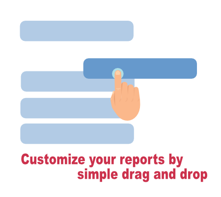 Customize any construction report you want with Projectmates reporting.