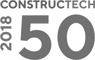 Logo for constructech top 50 products of 2018