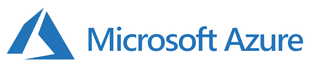 Microsoft Azure blue logo