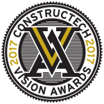 Construction vision awards 2017 for Projectmate's management software.
