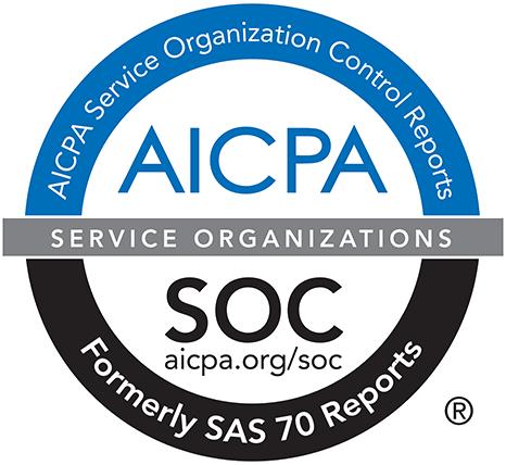 SOC 2 Type 2 compliance logo.