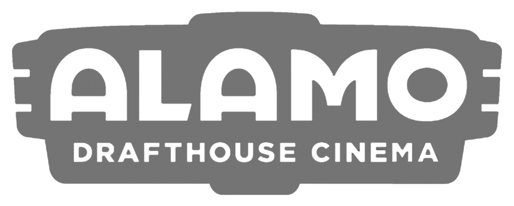 Logo for Alamo Drafthouse Cinema.