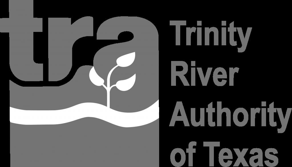 grey Trinity River logo