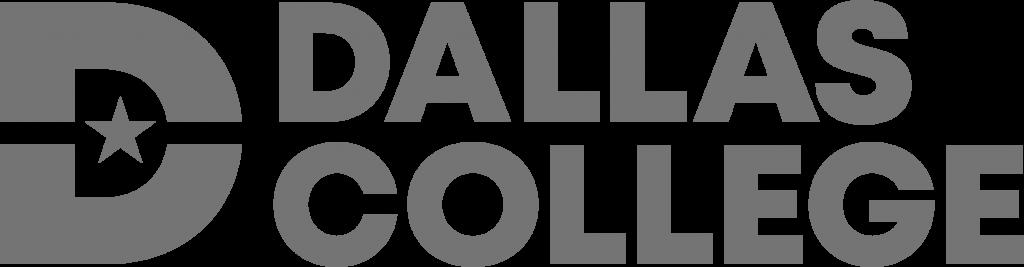Grey Dallas College logo