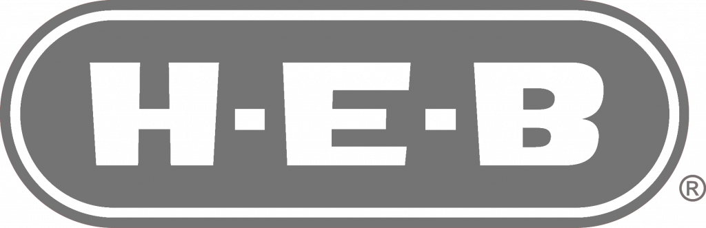 grey HEB logo