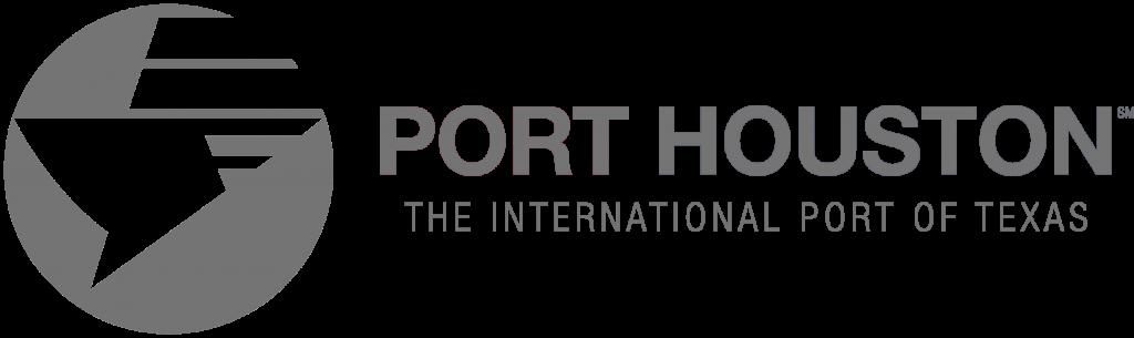 grey Port Houston logo