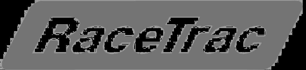 Grey RaceTrac logo